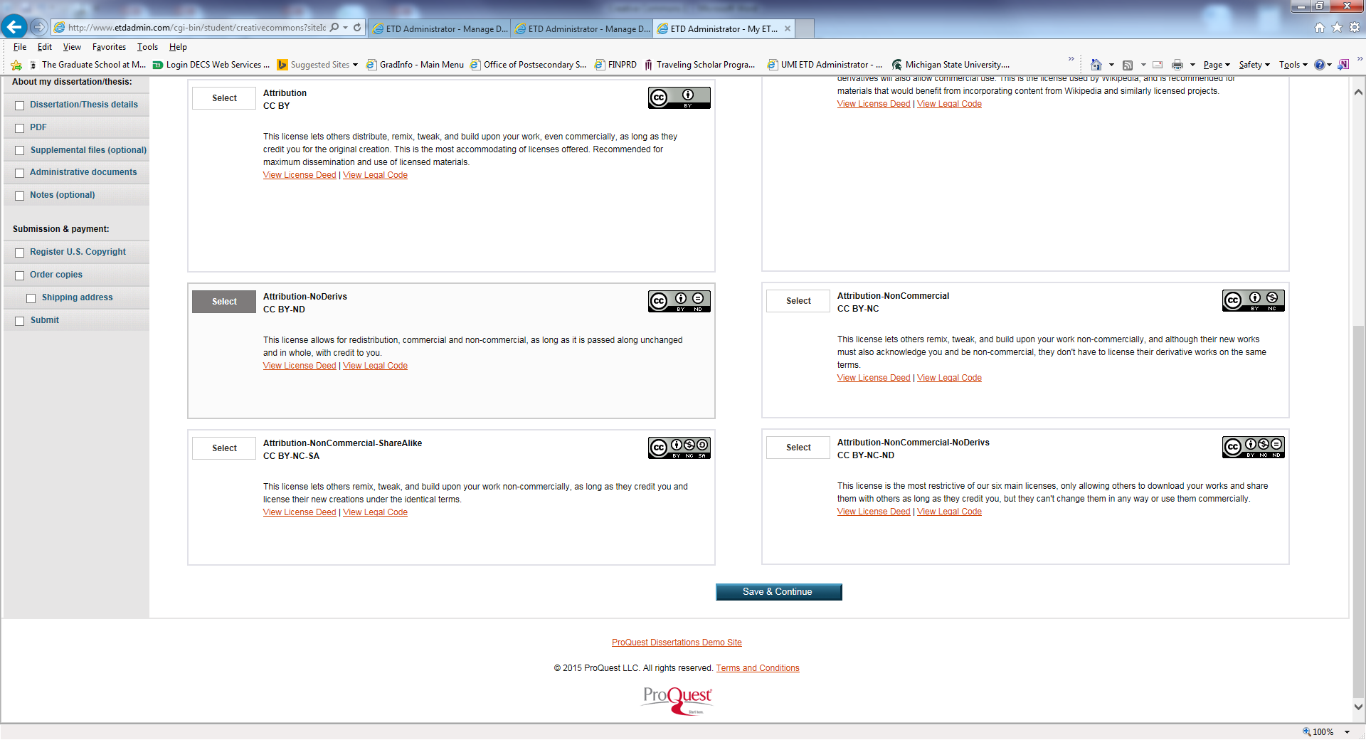 ProQuest site example 2
