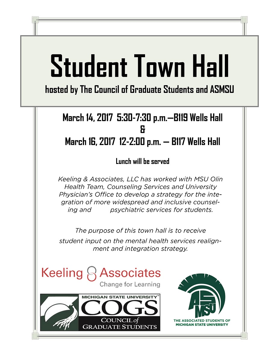 Student Town Hall<br />