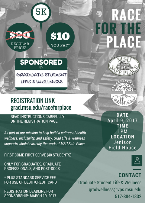 Race for Place Flyer
