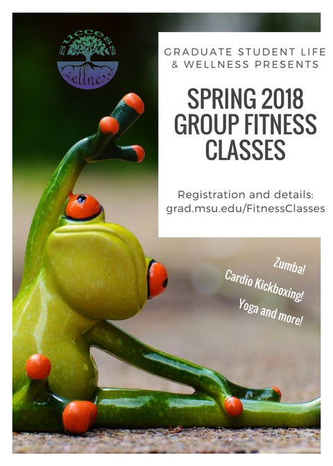 Fitness Classes flyer