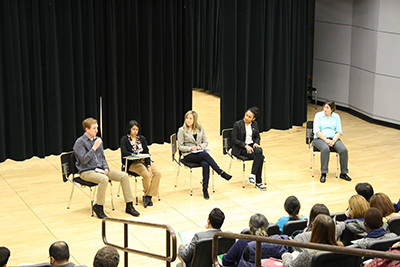 Leadership Panel in discussion