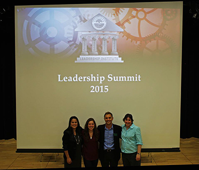 GSLW Staff team at the leadership summit