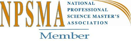 National Professional Science Master's Association Member logo