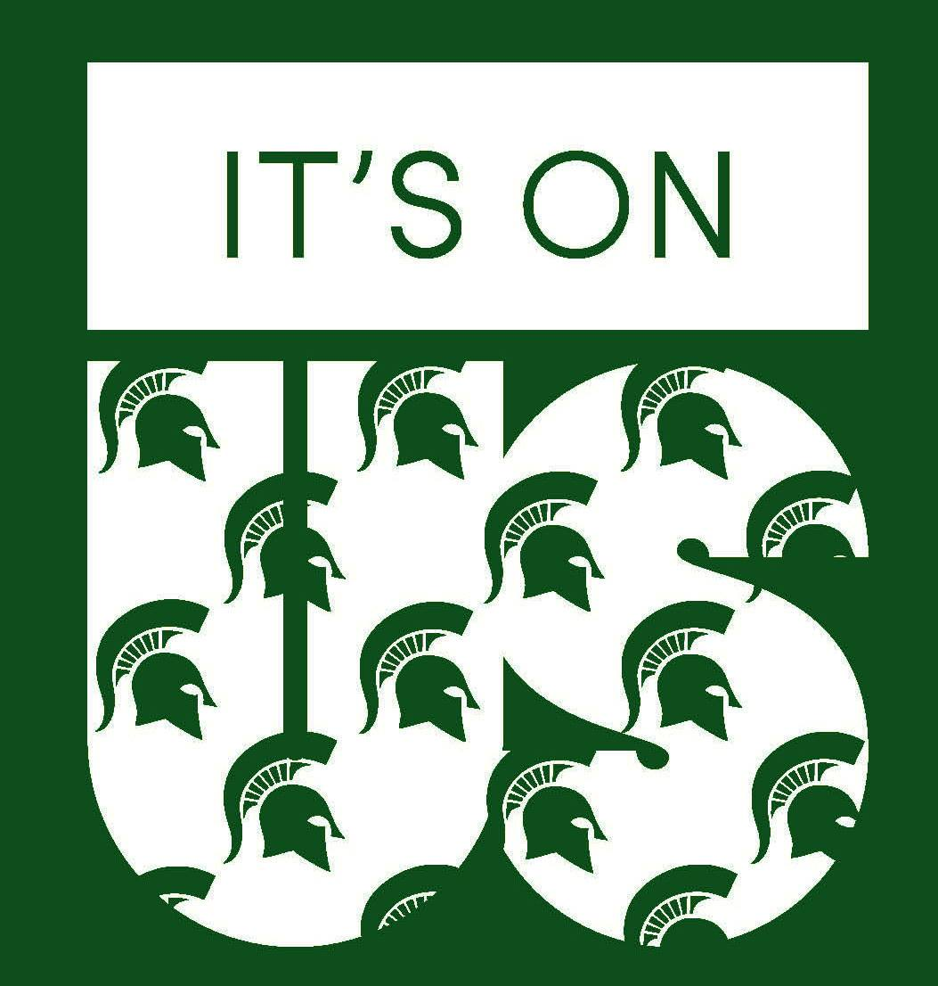 It's On Us MSU Logo