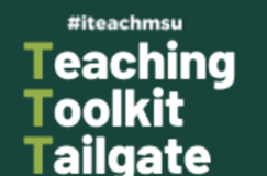 Teaching Toolkit Tailgate