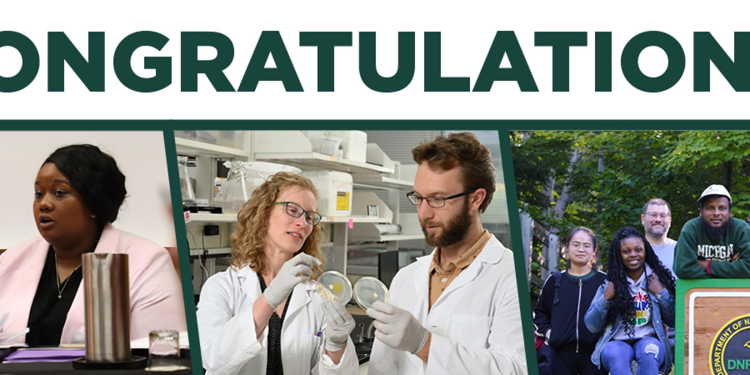 Congratulations to our Mentoring Awards Recipients