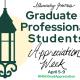 Graduate and Professional Student Appreciation Week