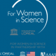 For Women in Science Logo