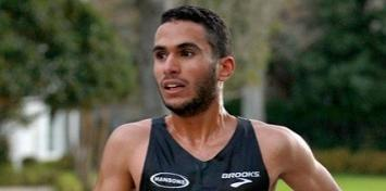 MBA student Mohamed Hrezi will represent Libya in the Olympic marathon. Photo courtesy of the Eli Broad College of Business.